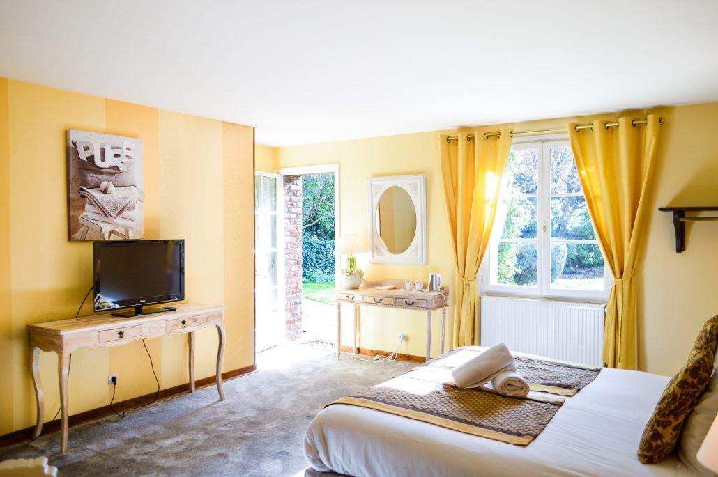 Les granges haillancourt hotel de charme proche paris for Chambre charme paris