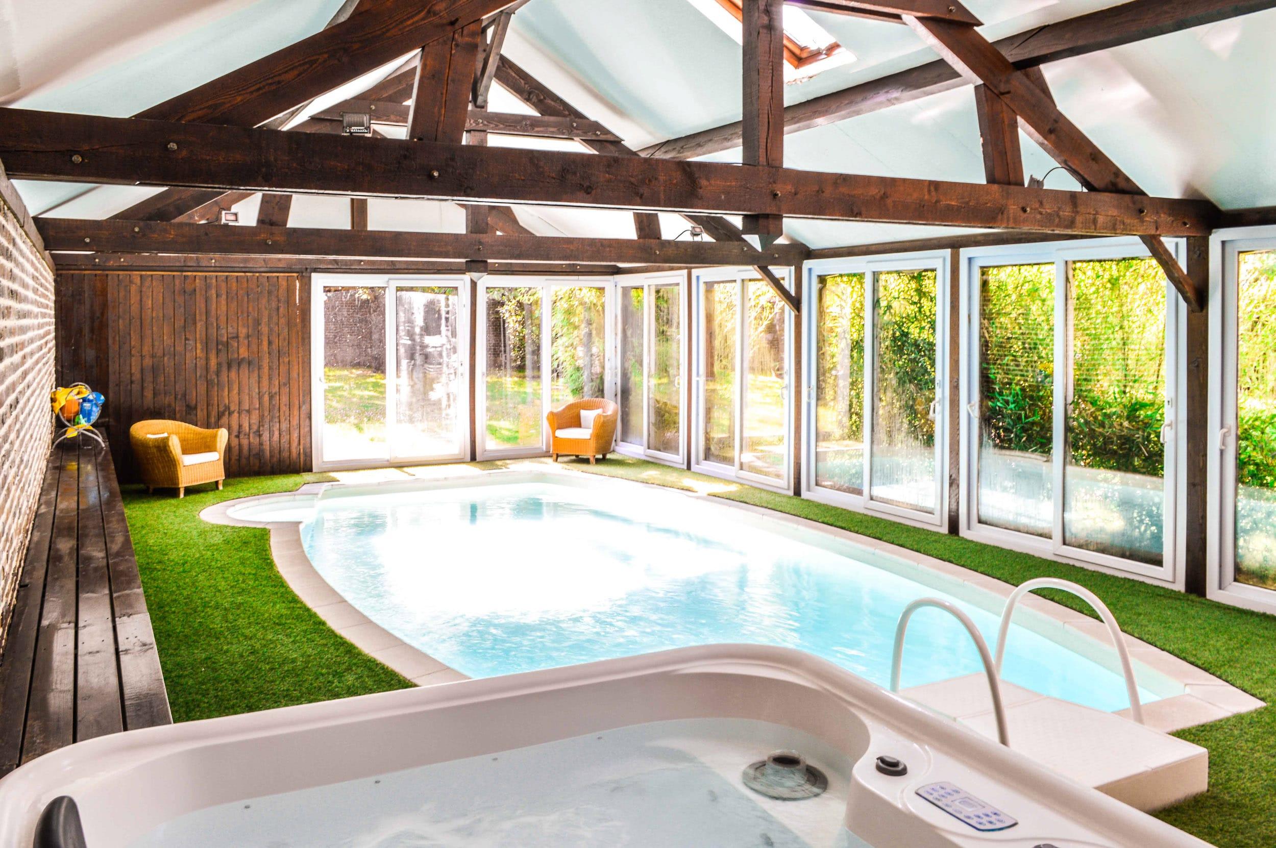 Hotel avec piscine meru les granges haillancourt 2 2 les for Appart hotel montpellier avec piscine