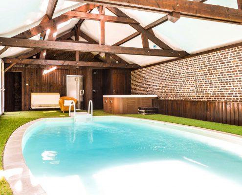 Les granges haillancourt proche paris petit hotel de for Hotel avec piscine privee dans la chambre